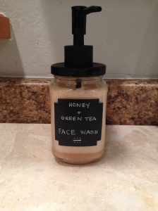 honeygreenteafacewash
